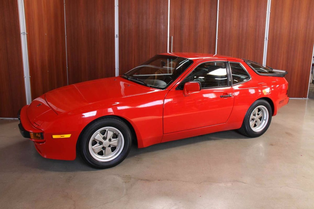 sold 1985 porsche 944 – workshop 5001